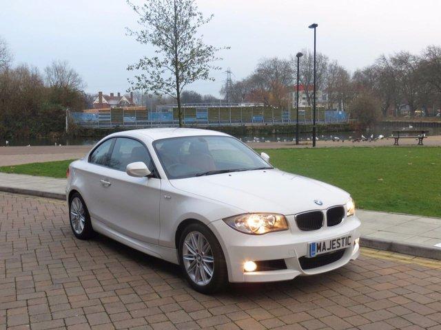 2010 10 BMW 1 SERIES 2.0 118D M SPORT 2d AUTO 141 BHP