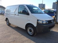 USED 2012 12 VOLKSWAGEN TRANSPORTER 2.0 T28 TDI BLUEMOTION TECHNOLOGY, 84 BHP, FULL VW SERVICE HISTORY