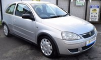USED 2003 53 VAUXHALL CORSA 1.2 DESIGN 16V 3d 75 BHP * GREAT 1ST CAR - LOW TAX GROUP *