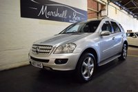 USED 2007 57 MERCEDES-BENZ M CLASS 3.0 ML320 CDI SPORT 5d AUTO 222 BHP LOVELY CAR THROUGHOUT- 9 SERVICES TO 112K - AUTO XENONS