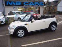 USED 2009 09 MINI CONVERTIBLE 1.6 COOPER 2d 120 BHP FULL SERVICE HISTORY