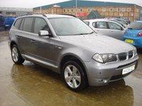 USED 2005 05 BMW X3 3.0 SPORT 5d AUTO 228 BHP