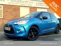 2012 CITROEN DS3 1.6 E-HDI DSTYLE PLUS 3d 90 BHP FREE TAX!! SERVICE HISTORY £4490.00