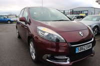 USED 2013 62 RENAULT SCENIC 1.5 DYNAMIQUE TOMTOM DCI 5d 110 BHP LOW DEPOSIT OR NO DEPOSIT FINANCE AVAILABLE.