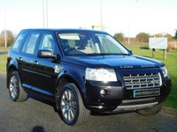 USED 2010 60 LAND ROVER FREELANDER 2.2 TD4 HSE 5d AUTO 159 BHP LEATHER, SAT NAV, LOW MILEAGE