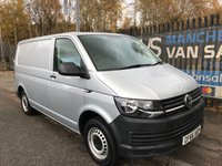 2016 VOLKSWAGEN TRANSPORTER 2.0 T28 TDI P BMT 102 BHP VW T6 IN SILVER ONE OWNER  FULL SERVICE HISTORY £14995.00