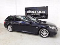 USED 2010 10 BMW 5 SERIES 2.0 520D M SPORT TOURING 5d AUTO 175 BHP