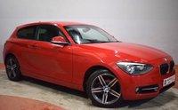 USED 2012 BMW 1 SERIES 116I SPORT 3 Door Hatchback 135 BHP