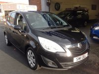 USED 2011 11 VAUXHALL MERIVA 1.7 EXCLUSIV CDTI  PARKING SENSORS FRONT AND REAR