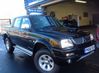USED 2006 56 MITSUBISHI L200 2.5 4WD TROJAN LWB DOUBLE CAB  One Private Owner....Very Low Miles