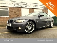 2007 BMW 3 SERIES 2.0 320D M SPORT 2d 175 BHP COUPE, FULL LEATHER 9 SERVICES  £6490.00