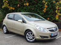 USED 2007 07 VAUXHALL CORSA 1.4 DESIGN 16V 5d AUTO  ECONOMICAL FAMILY AUTOMATIC