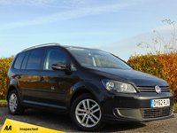USED 2012 62 VOLKSWAGEN TOURAN 1.6 SE TDI 5d*7 seater* PRICE REDUCED***128 POINT AA INSPECTED