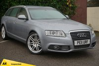 USED 2011 11 AUDI A6 2.0 AVANT TDI S LINE SPECIAL EDITION 5d  * 128 POINT AA INSPECTED *
