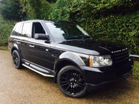 USED 2009 08 LAND ROVER RANGE ROVER SPORT 2.7 TDV6 SPORT S 5d AUTO 188 BHP Full Service History! Rear TV Screens! Very Clean Low Mileage Car!