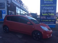 USED 2012 62 NISSAN NOTE 1.5 ACENTA DCI 5d 89 BHP, only 47000 miles ***GREAT FINANCE DEALS....NO PAYMENTS TILL 2018*** .........t&c's apply, subject to status