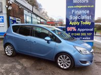 USED 2014 14 VAUXHALL MERIVA 1.4 SE 5d 138 BHP, only 17000 miles ***GREAT FINANCE DEALS....NO PAYMENTS TILL 2018*** .........t&c's apply, subject to status