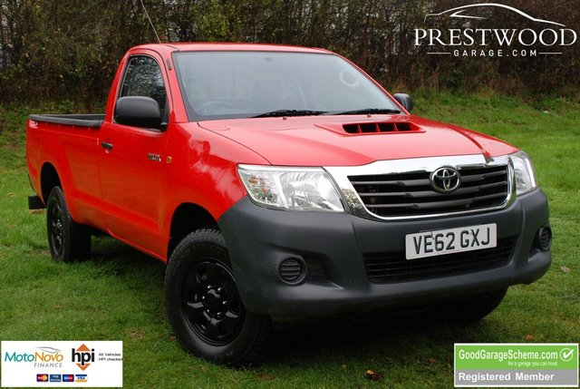 2012 62 TOYOTA HI-LUX HL2 2.5 D-4D KING CAB 4x4 [142 BHP] PICK UP