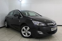 USED 2011 61 VAUXHALL ASTRA 2.0 SRI CDTI S/S 5DR 163 BHP SERVICE HISTORY + CRUISE CONTROL + MULTI FUNCTION WHEEL + RADIO/CD + AUXILIARY PORT + 17 INCH ALLOY WHEELS