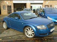 2002 AUDI TT 1.8 QUATTRO 3d 221 BHP £2495.00