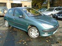 2003 PEUGEOT 206 1.4 LX 5d 74 BHP £SOLD