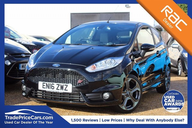View our 2016 16 FORD FIESTA 1.6 ST-3 3d 180 BHP