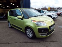 USED 2009 59 CITROEN C3 PICASSO 1.6 PICASSO VTR PLUS HDI 5d 90 BHP FULL SERVICE HISTORY