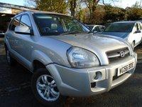 2006 HYUNDAI TUCSON 2.0 LIMITED 5d 139 BHP £1995.00
