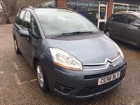 USED 2008 58 CITROEN C4 PICASSO 1.6 GRAND VTR PLUS HDI EGS 5d AUTO 110 BHP GREAT CONDITION IN MET BLUE APPROVED CARS ARE PLEASED TO OFFER THIS  CITROEN C4 PICASSO 1.6 GRAND VTR PLUS HDI EGS 5 DOOR AUTO 110 BHP GREAT CONDITION INSIDE AND OUT WITH A FULL SERVICE HISTORY .