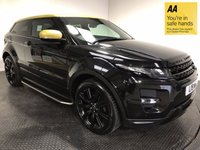 USED 2013 LAND ROVER RANGE ROVER EVOQUE 2.2 SD4 SPECIAL EDITION 3d 190 BHP FULL HISTORY - PANORAMIC ROOF - FULL LEATHER - SAT NAV - PARKING CAMERA & SENSORS - 20' ALLOYS