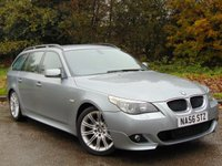 USED 2006 56 BMW 5 SERIES 2.0 520D M SPORT TOURING 5d 161 BHP FULL SERVICE HISTORY, MOT AUG 2018