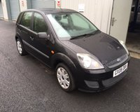 USED 2008 08 FORD FIESTA 1.25 STYLE CLIMATE THIS VEHICLE IS AT SITE 2 - TO VIEW CALL US ON 01903 323333