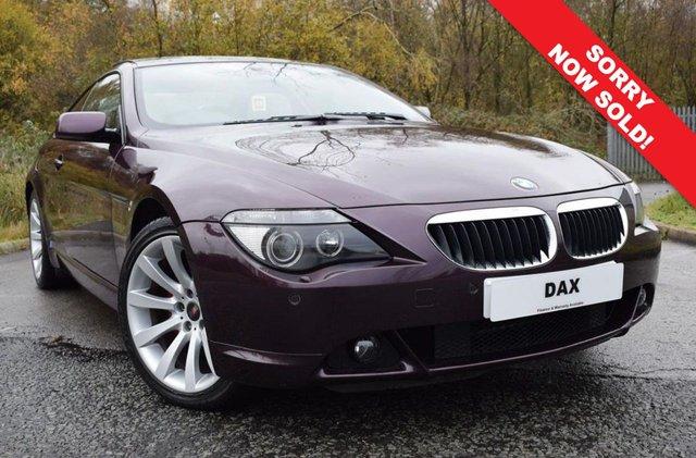 2006 56 BMW 6 SERIES 3.0 630I SPORT 2d 255 BHP