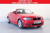 2008 BMW 1 SERIES 3.0 125I SE 2d Convertible £7490.00