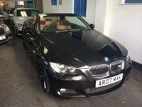 2007 BMW 3 SERIES 3.0 335I M SPORT 2d AUTO 302 BHP £8995.00