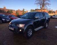 2007 MITSUBISHI L200 ANIMAL LWB DCB £5000.00