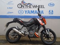 USED 2012 62 KTM DUKE ***PREVIOUSLY CAT C***  ***PERFORMANCE EXHAUST***