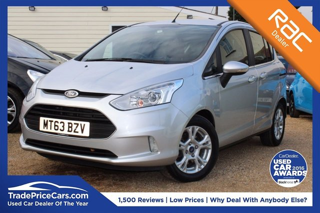 View our 2013 63 FORD B-MAX 1.6 ZETEC 5d AUTO 104 BHP