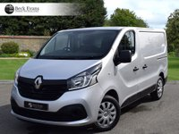 USED 2016 16 RENAULT TRAFIC 1.6 SL27 BUSINESS PLUS DCI S/R P/V 1d 115 BHP PLY LINED CHOICE OF VANS  AIR CONDITIONING  PLY LINED CHOICE OF VANS