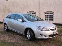 2012 VAUXHALL ASTRA 2.0 SRI CDTI S/S 5d 163 BHP £5995.00