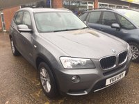 USED 2011 11 BMW X3 2.0 XDRIVE20D SE 5d AUTO 181 BHP WITH RED LEATHER IN MET GREY. APPROVED CARS ARE PLEASED TO OFFER THIS  BMW X3 2.0 XDRIVE20D SE 5 DOOR AUTO 181 BHP WITH RED LEATHER IN MET GREY A STUNNING 4X4 IN GREAT CONDITION WITH A FULL SERVICE HISTORY SERVICED AT 17K,35K,42K,50K,70K,86K AND 101K A STUNNING 4X4 CAR WITH A GREAT SPEC.