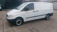 USED 2008 58 MERCEDES-BENZ VITO 2.1 109 CDI LONG SWB 1d 95 BHP 2 OWNER F/VOSA PRINT OUT //////