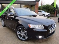 USED 2012 12 VOLVO V50 1.6 DRIVE SE EDITION S/S 5d 113 BHP £0 ROAD TAX, ONE PREVIOUS OWNER, LEATHER, PARKING SENSORS, FULL SERVICE HISTORY, SPARE KEY
