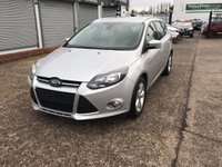 USED 2014 64 FORD FOCUS 1.6 ZETEC TDCI 5d ESTATE 113 BHP  DAB-BLUETOOTH-DIESEL-1 OWNER-SERVICE HISTORY-