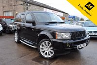 USED 2007 07 LAND ROVER RANGE ROVER SPORT 4.2 V8 SPORT SUPERCHARGED HSE 5d AUTO 385 BHP