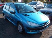 2003 PEUGEOT 206 1.4 SW XT 5d 74 BHP £1500.00