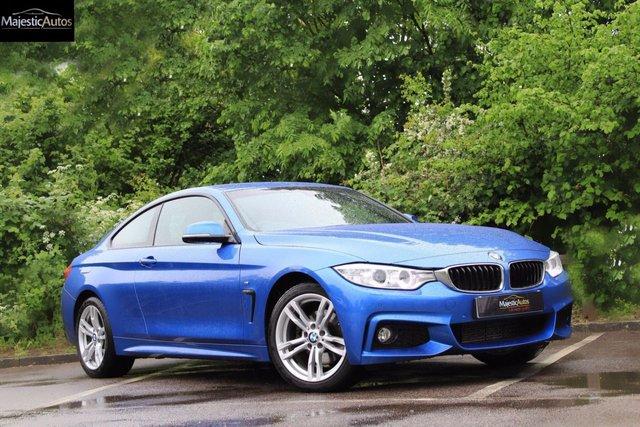 2014 64 BMW 4 SERIES 2.0 420D XDRIVE M SPORT 2d AUTO 181 BHP