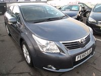 2010 TOYOTA AVENSIS 1.8 VALVEMATIC TR 5d 145 BHP £5995.00