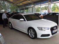 USED 2013 63 AUDI A6 2.0 TDI S LINE 4d AUTO 175 BHP