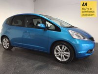 USED 2009 09 HONDA JAZZ 1.3 I-VTEC EX I-SHIFT 5d AUTO 98 BHP FULL SERVICE HISTORY - PANORAMIC ROOF - AIR CON - PRIVACY GLASS - CD PLAYER - ISOFIX POINTS